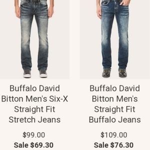 Buffalo David Bitton Mens Jeans